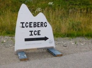 Icebergs for sale