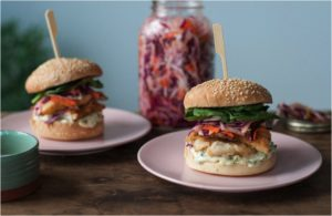 Not Your Ordinary Fish Burger