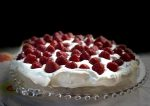 Summer Strawberry Pavlova